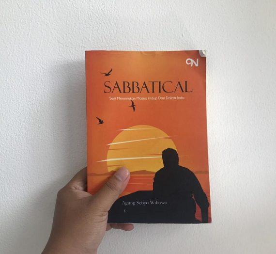 #BookReview : Sabbatical Karya Agung Setiyo Wibowo